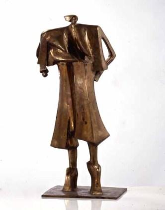 Madame Gornichon 105x70x50 cm 1989 bronze
