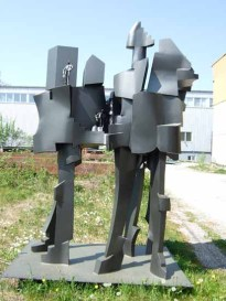 The City builders 240x200x150 cm 2010 iron