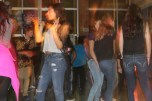 Student busts a move to the Cha Cha Slide.
