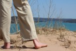 Don't wear shoes while climbing the dunes. Sand will get in them and cause annoyances. Photo Credit / Jake Link