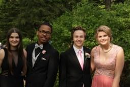 Juniors Reace Hammel, Jonathan Wilson, Drue Burkey, and Hannah Pittman. Photo Credit / Jordan Brown