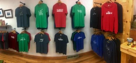 Handmade Kalamazoo proudly shows off their large selection of handmade shirts. Photo Credit / Joshua Wild