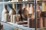 Clay Products Drying before being fired in the kiln. Photo Credit / Josh WIld