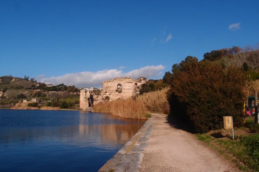 zimní dny v mediteránu, Apollonův chrám, Itálie