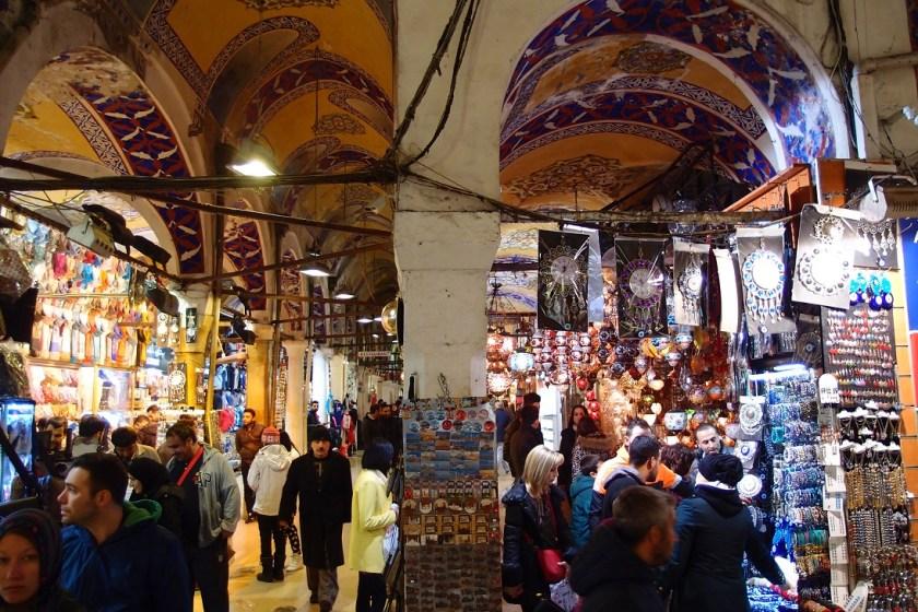 istanbulský bazaar