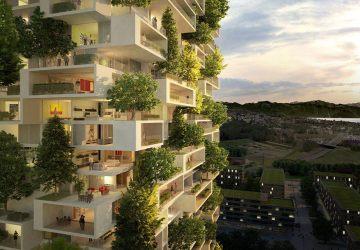 Revolučná budova, z ktorej budú vyrastať stromy, kríky a rastlinky!