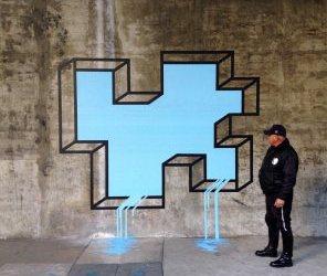 FOTOREPORT: Tento street art Ťa prinúti niečo robiť. Fantastické!!!