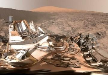Úžasná fotografia z Marsu! Prvá panoramatická fotografia duny mimo našej planéty!