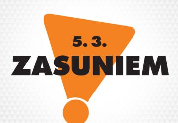 Hromadná zasúvačka: Zasuň 5.3.2016 aj ty a urobíš dobre celému Slovensku!
