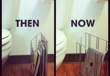 Veci sa z času na čas menia. Pozrite sa, ako!