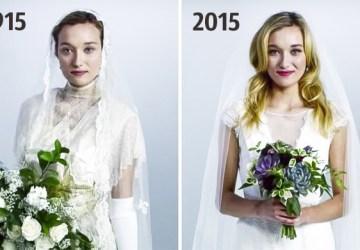 Fascinujúce! Takto sa zmenili svadobné šaty od roku 1915