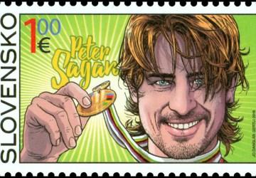 Tvár Petra Sagana na poštových známkach!