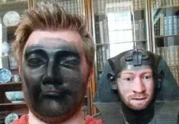 Keď ideš do múzea a spravíš si Face Swap s rôznymi sochami!