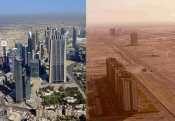 Pozrite, ako sa zmenili Čína, Dubaj, Paríž a iné metropoly v priebehu desaťročia!