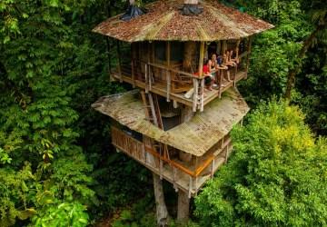 Nádherná Kostarika v sebe skrýva nevídaný poklad, ktorým sú domy na stromoch. Bývali by ste tak aj vy?