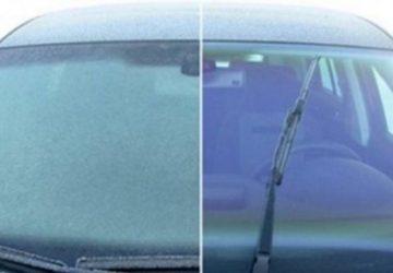 Vodiči zbystríte! Máme pre vás skvelý návod, ako sa zbaviť zamrznutých okien v priebehu necelej minúty!