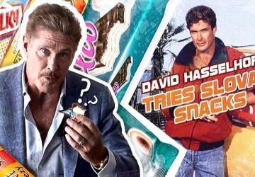 Legendárny plavčík z Pobrežnej hliadky, David Hasselhoff, ochutnával slovenské sladkosti! Ktoré mu chutili?!
