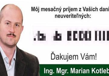 Hovorí o chudobe, no sám má príjem, o ktorom sníva každý Slovák. Koľko zarába Kotleba?