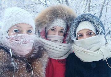 V najchladnejšej dedinke na svete namerali teplotu -62°C. Takto čarovne vyzerá extrémna zima