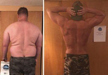 Obézny otec zmenil kvôli svojim deťom svoj život. Začal chudnúť a po 6 mesiacoch je z neho nový človek