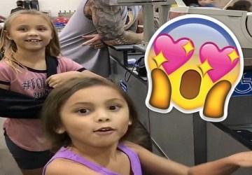 Deti sú nadšené: Predavač sa neuveriteľne podobá na rozprávkovú postavičku (VIDEO)