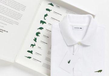 Spoločnosť Lacoste sa rozhodla nahradiť obľúbené logo krokodíla! Dôvodom je zviditeľnenie celosvetového problému
