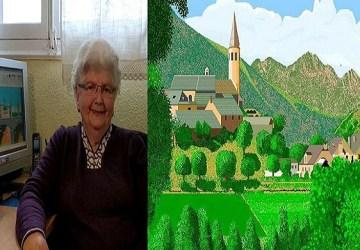 Skicár nie je prežitok! 87-ročná babička ti ukáže, aké majstrovské diela sa v ňom dajú vytvoriť