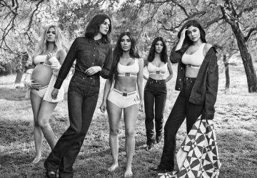 FOTO: Na detailoch záleží! Drobný fail spravil z najnovšej kampane Calvina Kleina poriadne fiasko! Sestry Kardashianové sú zahanbené