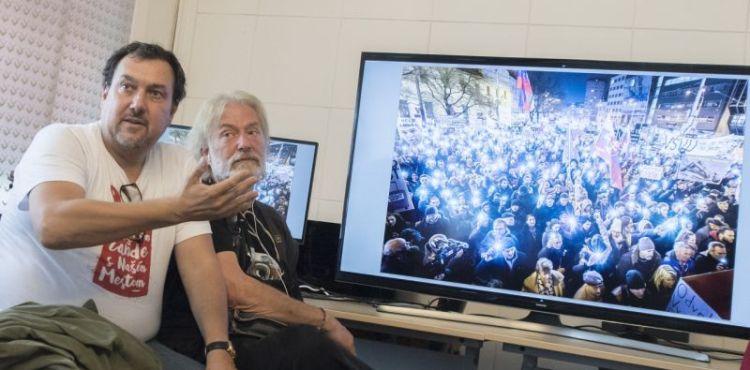 Poznáme víťaza Slovak Press Photo! Víťazná fotografia je z protestov Za slušné Slovensko