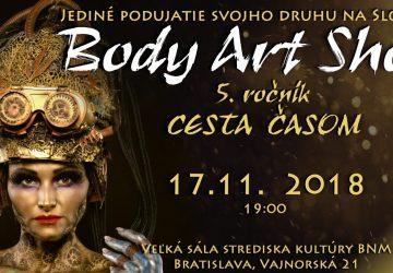Body Art Show: Pozrite si nahé telá zahalené vo farbách