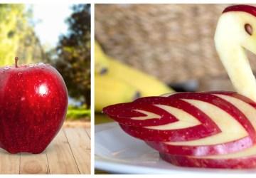 Zostali vám po vianočných sviatkoch jablká? Vyrežte si z nich chutné zvieracie dekorácie