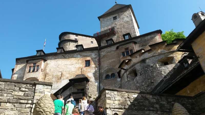 Drakula Oravský hrad