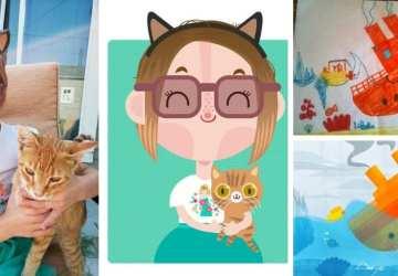 Chcete mať doma kresbičku vášho dieťaťa alebo obľúbenú fotku v grafickej podobe? Napíšte týmto umelcom
