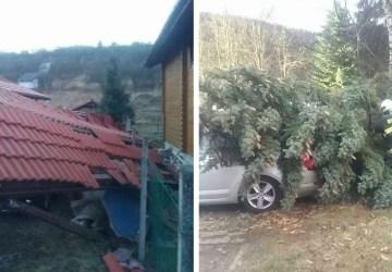 Desaťtisíce domácností na Slovensku sú momentálne bez elektriny. Môže za to silný vietor