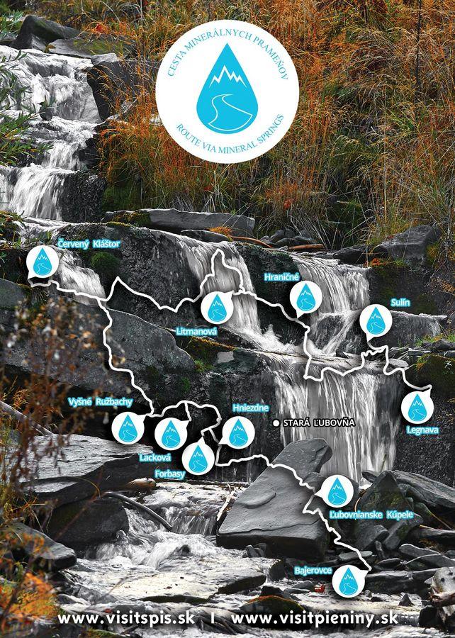 Spoznajte prírodu Spišu prostredníctvom Cesty minerálnych prameňov