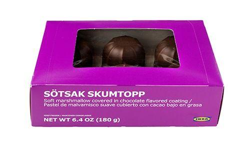 IKEA sťahuje z predaja cukrovinky marshmallow SÖTSAK SKUMTOPP. Zákazníkovi vrátia peniaze