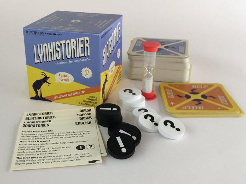 LynHistorier med indhold