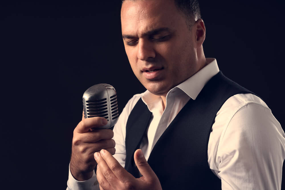 Portretten zanger