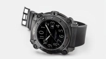 Reloj Hamilton en color negro con detalles grises