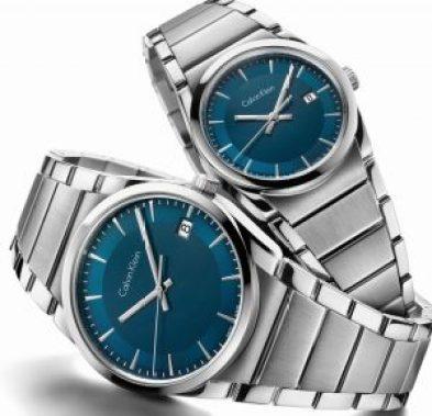 Relojes Step en color plateado con el dial en color azul