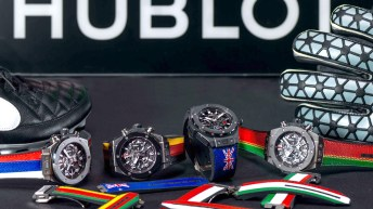 8 relojes Hublot presentados en la Copa confederaciones