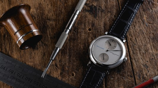 Laurent Ferrier Galet Micro-Rotor Ecole Regulateur