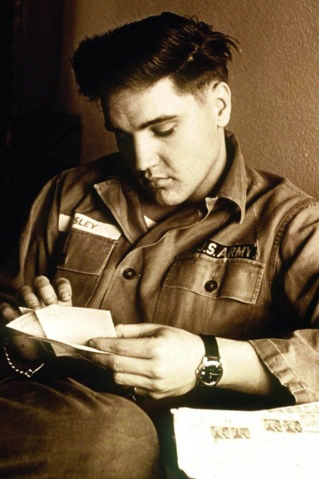 Omega Constellation, uno de los relojes de Elvis Presley