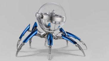 Octopod de MB&F y L'EPEE 1839