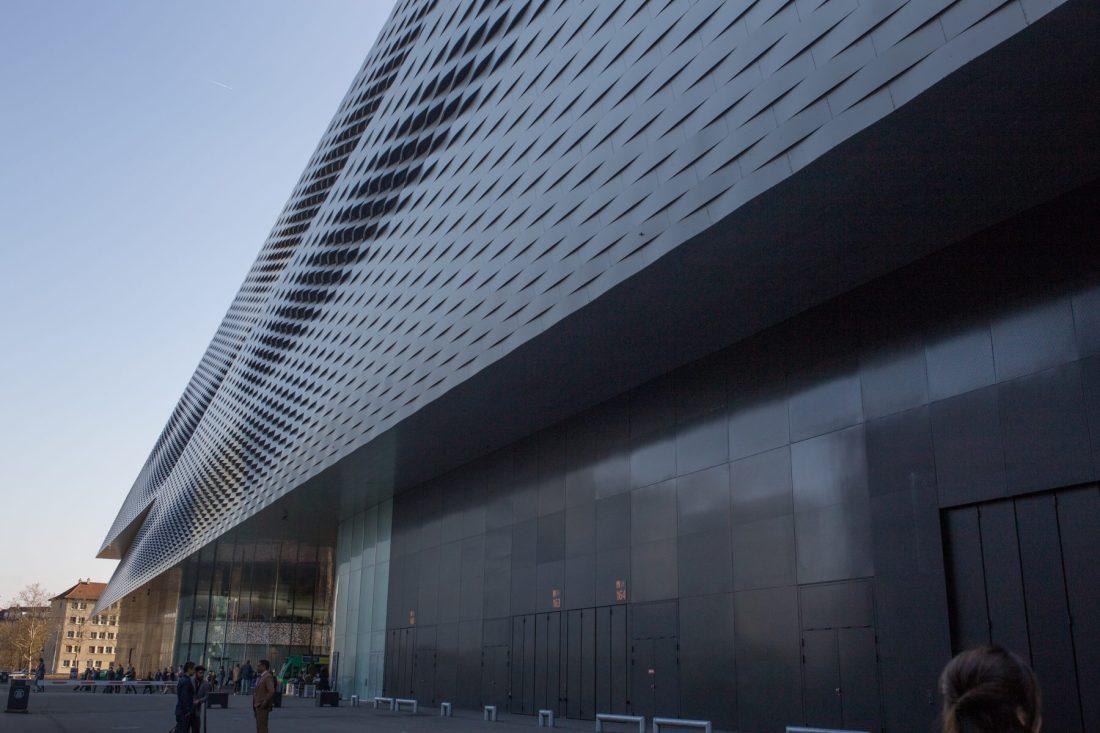 Edificio donde se llevo acabo el Baselworld 2018