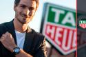Matt Hummels es embajador de TAG Heuer