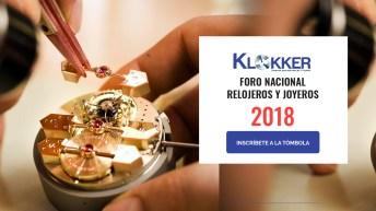 Foro Nacional Relojeros y Joyeros 2018
