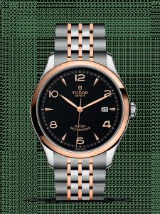 Reloj Tudor Geneve Negro, plata, bronce