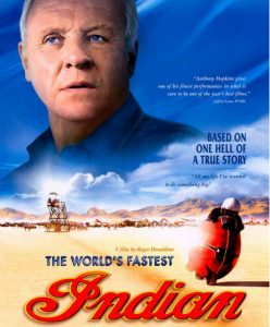 "Película ""The world's fastest Indian"" Clifton"