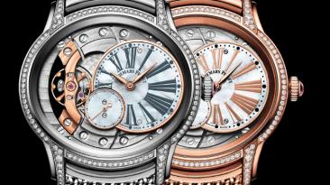 Mecánica reloj oro y bronce Millenary